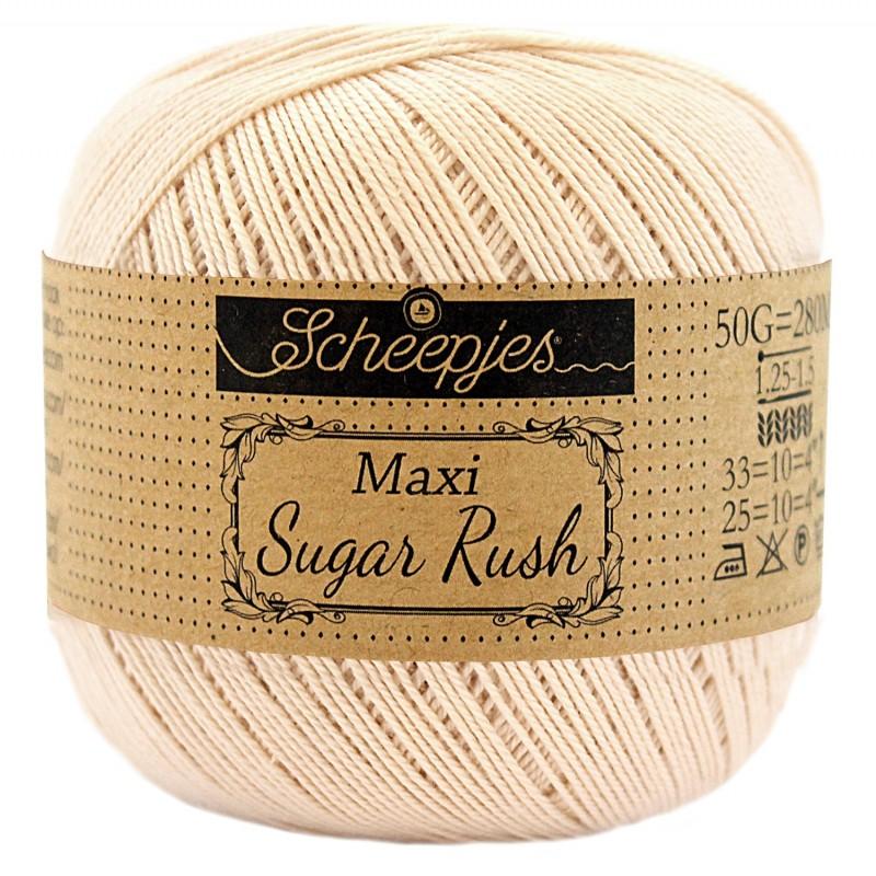 Scheepjes Maxi Sugar Rush 255 Nude