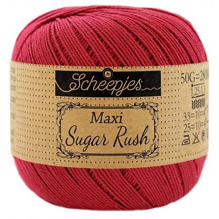 Scheepjes Maxi Sugar Rush 192 Scarlet