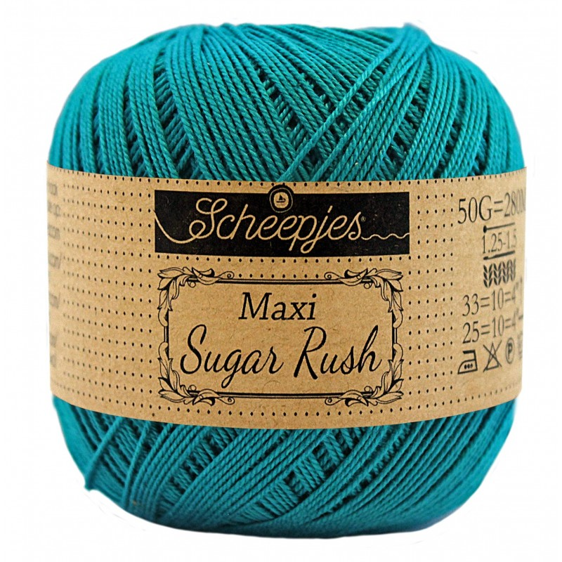 Scheepjes Maxi Sugar Rush 401 Dark Teal