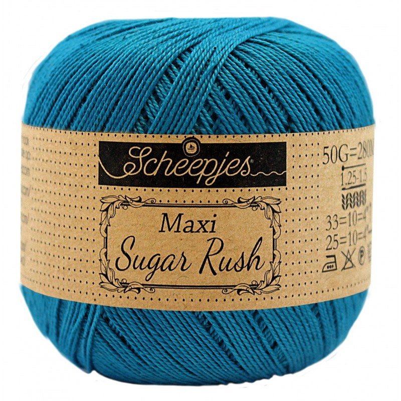 Scheepjes Maxi Sugar Rush 400 Petrol Blue