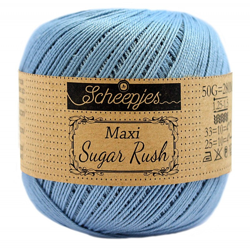 Scheepjes Maxi Sugar Rush 510 Sky Blue