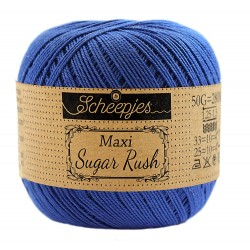 Scheepjes Maxi Sugar Rush 201 Electric Blue