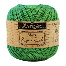 Scheepjes Maxi Sugar Rush 606 Grass Green