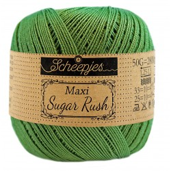 Scheepjes Maxi Sugar Rush 412 Forest Green
