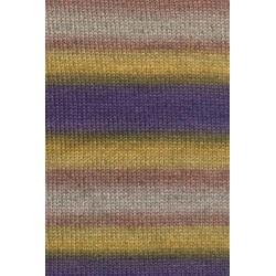 Lang Yarns Victoria 1009.0056 violet moutarde beige