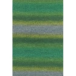 Lang Yarns Victoria 1009.0054 vert bleu jaune