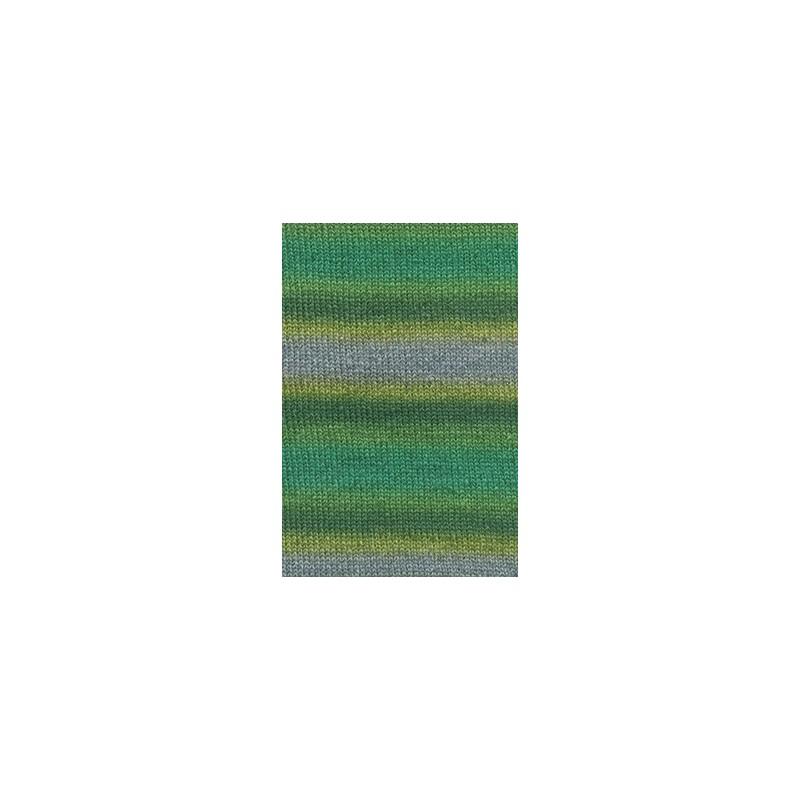 Lang Yarns Victoria 1009.0054 groen blauw geel