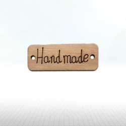 "Wood ""Handmade"" - 40mm x..."