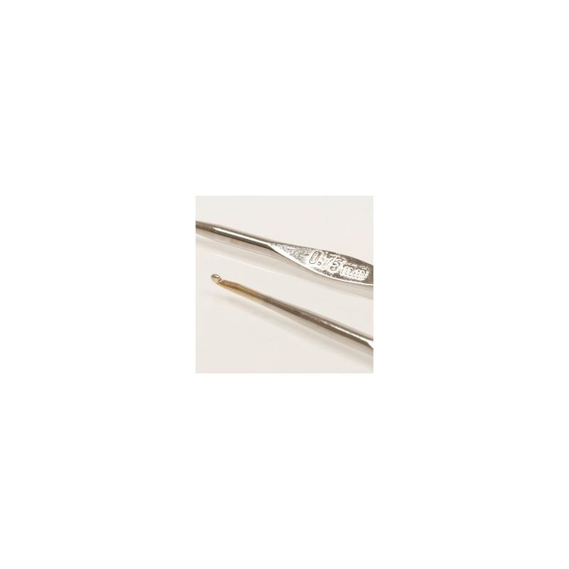 Drops häkelnadeln 0.75mm - 13 cm - stahl