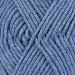 Big Merino uni 07 - denimblauw