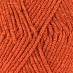 Big Merino uni 15 - orange
