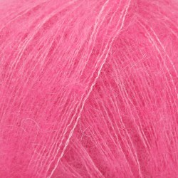 Kid Silk uni 13 - rose vif