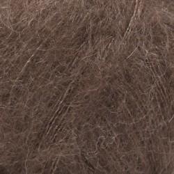 Kid Silk uni 15 - brun foncé
