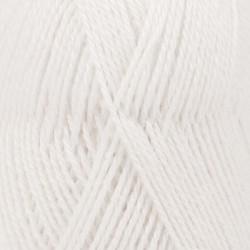 Drops Alpaca Uni 101 - white