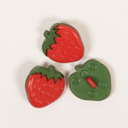 Strawberry button 18 mm nr 552