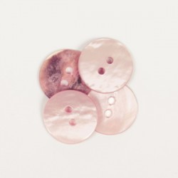 Drops Round (Blush) (15mm)...