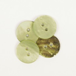 Drops Round (green) (15mm)...
