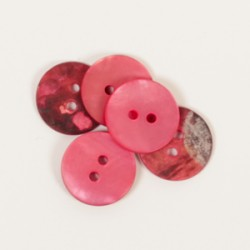 Drops Round (red) (15mm) n605