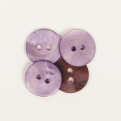 Drops Round (purple) (15mm)...