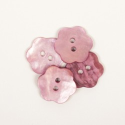 Drops Bloem (roze) 15mm -...