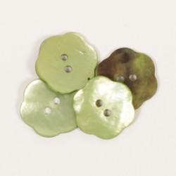 Drops Fleur (vert) (20mm) n601