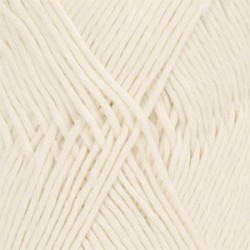 Drops Cotton LIght Uni 01 - naturel