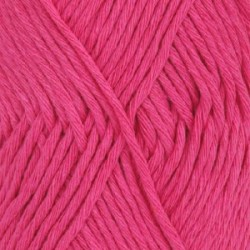 Drops Drops Cotton LIght Uni 18 - pink