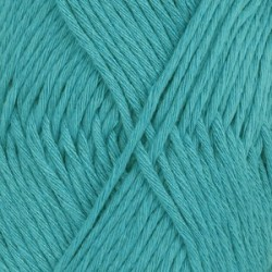 Drops Drops Cotton LIght Uni 14 - turquoise