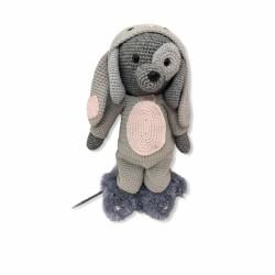 Onesie Rabbit Grey -...