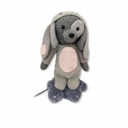 Onesie Rabbit Grey -...
