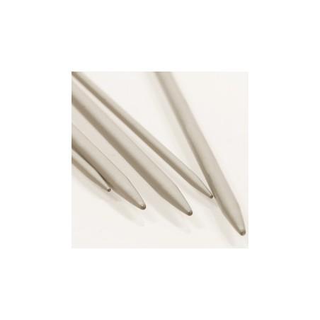 Breinaalden zonder kop  2.5mm 20 cm - aluminium
