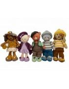 Poekies & Doggies Crochet Girl Design